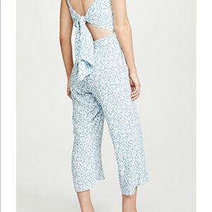 Faithfull the Brand Pants - Faithfull jumpsuit with tie back- tags / New